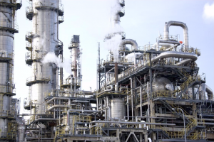 High temperature stainless steel oxidation protection improves the lifetime of petroleum processing plants.